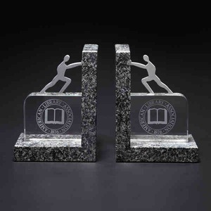 Bookends, Custom Imprinted With Your Logo!