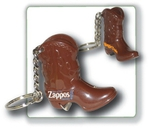 Custom Imprinted Cowboy Boot Shaped Bottle Openers