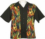 Customized Bowls of Fire Bowling Shirts