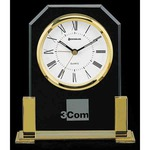 Custom Imprinted Brass Clocks