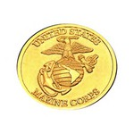 Custom Imprinted Brass Commemorative Coins