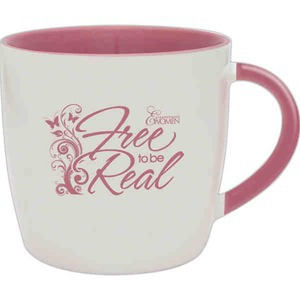 Custom Printed Breast Cancer Awareness Mugs