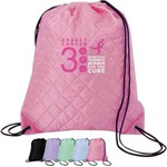 Custom Imprinted Breast Cancer Awareness Pink Backpacks