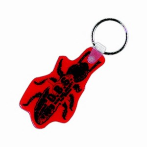 Custom Printed Bug Shaped Keytags