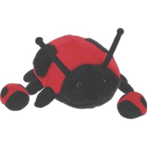 Custom Printed Bug Shaped Plush Animals