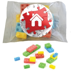 Custom Printed Building Block Candies