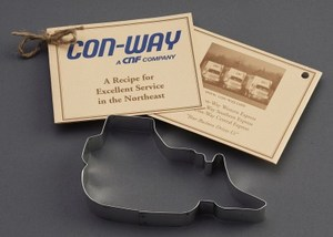 Custom Printed Bulldozer Stock Shaped Cookie Cutters