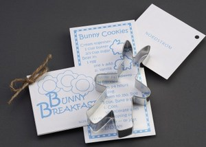 Custom Imprinted Bunny Stock Shaped Cookie Cutters