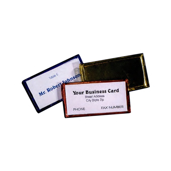 Custom Printed Chocolate Business Card Holders