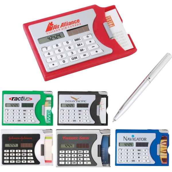 Custom Printed 1 Day Service Solar Calculators