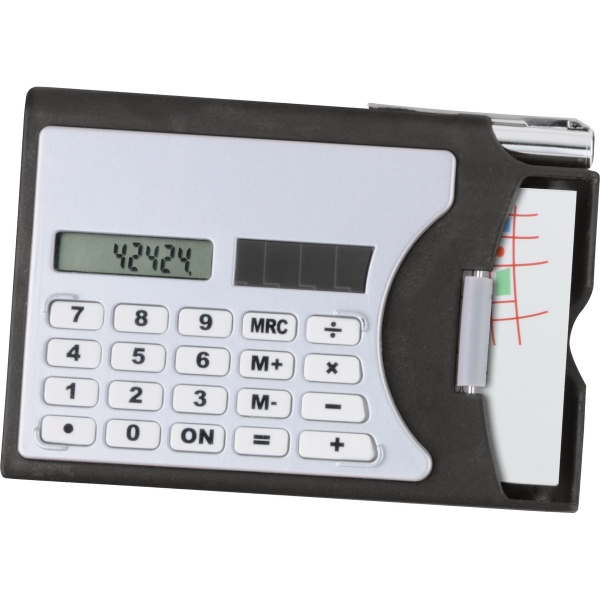 1 Day Service Solar Calculators, Custom Made With Your Logo!