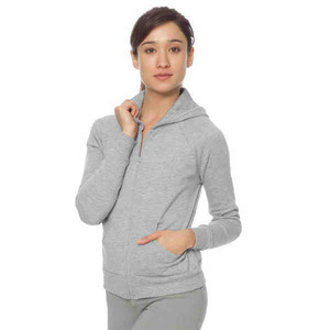 Custom Printed American Apparel California Fleece Zipped Hoodies For Women