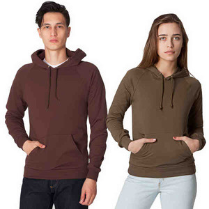 American Apparel California Fleece Pull-Over Hoodies For Men, Custom Imprinted With Your Logo!