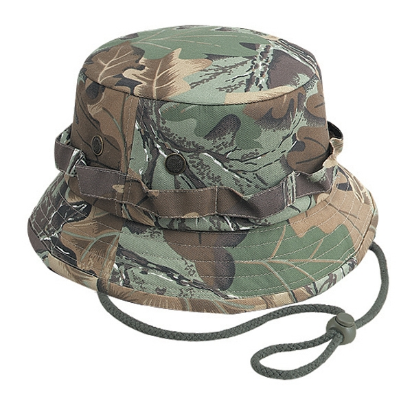 Custom Printed Camouflage Bucket Caps