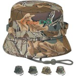 Custom Imprinted Camouflage Bucket Caps