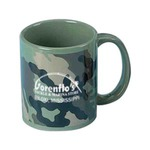 Custom Imprinted Camouflage Ceramic Mugs