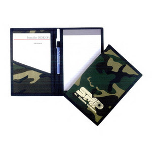 Custom Printed Camouflage Clip Folders