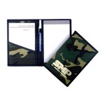 Custom Imprinted Camouflage Clip Folders