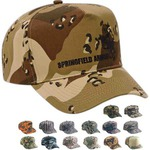 Custom Printed Camouflage Caps And Hats