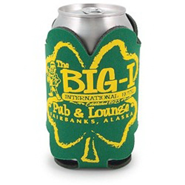Custom Printed St. Patrick's Day Holiday Can Coolers