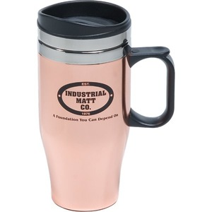 Custom Printed Canadian Manufactured 14oz. Double Wall Stainless Steel Travel Mugs