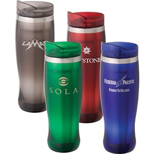 Custom Printed Canadian Manufactured 16oz. Espirit Crystal Travel Mugs