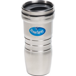 Custom Printed Canadian Manufactured 16oz. Stainless Steel Retro Tumblers