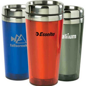 Custom Printed Canadian Manufactured 16oz. Transparent Tumblers