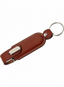 Custom Printed Canadian Manufactured 1GB Leather Case Flash Drives