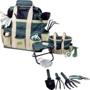 Custom Printed Canadian Manufactured 4 Piece Garden Tool Sets