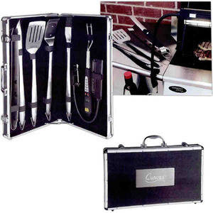 Custom Printed Canadian Manufactured 7 Piece Delta BBQ Sets