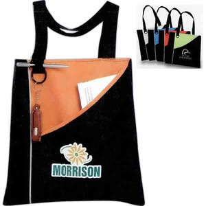 Custom Printed Canadian Manufactured Angle Convention Tote Bags
