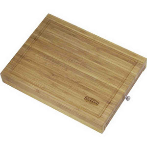 Custom Printed Canadian Manufactured Bamboo Cutting Board With Knife Sets