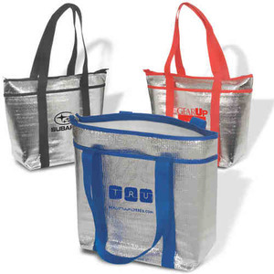 Custom Printed Canadian Manufactured Beach Tote Cooler Bags
