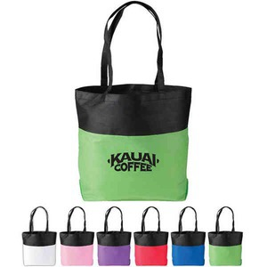 Custom Printed Canadian Manufactured Bent Convention Tote Bags