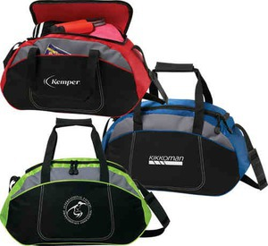 Custom Printed Canadian Manufactured Distinct Sports Duffel Bags