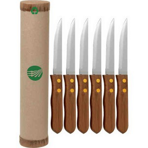 Custom Printed Canadian Manufactured Eco-friendly Steak Knife Sets