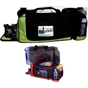 Custom Printed Canadian Manufactured Exercise Duffel Bags