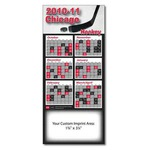 Custom Printed Canadian Manufactured Schedule Magnets