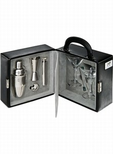 Custom Printed Canadian Manufactured Martini Sets With Travel Cases