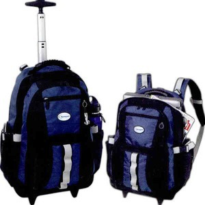 Custom Printed Canadian Manufactured Onyx Rolling Backpacks