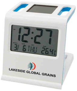 Custom Printed Canadian Manufactured Solar RC Clocks