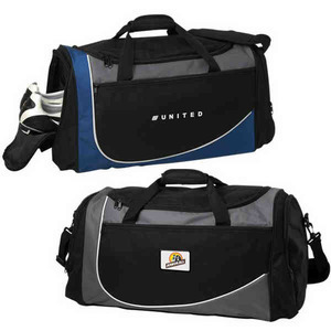 Custom Printed Canadian Manufactured Symmetry Sport Duffel Bags