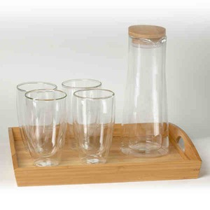 Custom Printed Canadian Manufactured Wine Carafe Sets