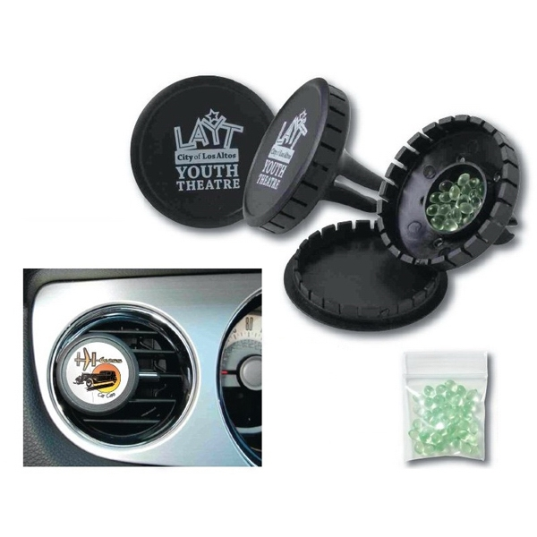 Car Gel Vent Air Fresheners, Custom Imprinted With Your Logo!