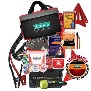 Custom Printed Car Emergency Kits with Jumper Cables