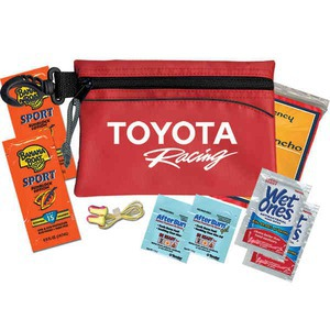 Custom Printed Car Emergency Kits with Neck Cords