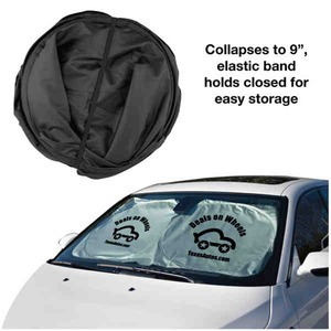 Car Sunshades, Custom Imprinted With Your Logo!