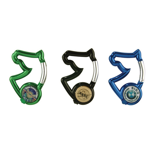 Custom Imprinted Cowboy Themed Carabiners
