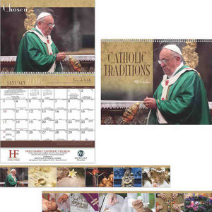 Custom Printed Catholic Traditions Appointment Calendars